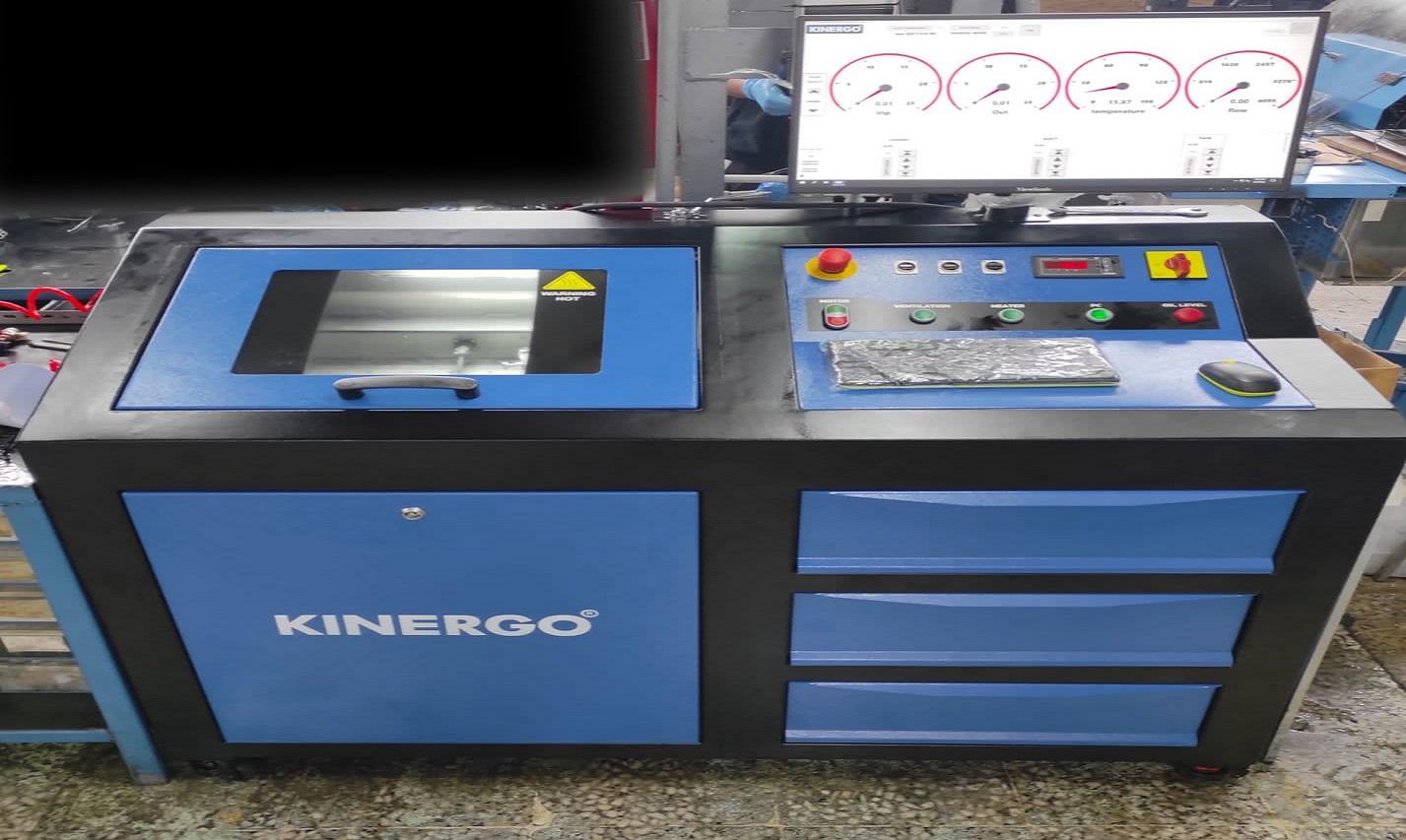 Yeni Valvebody ve Solenoid Test Makinemiz Devrede
