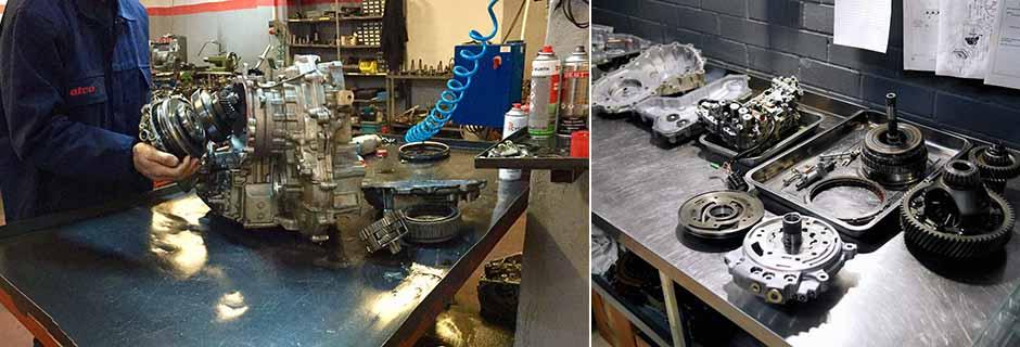 Nissan CVT Şanzıman Yeniden Üretimi